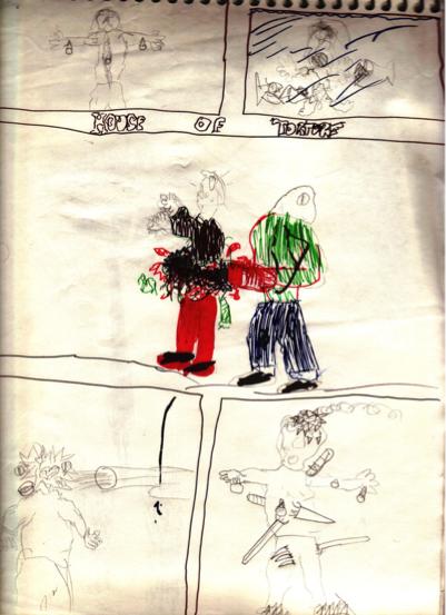 Eli Roth Drawing 1