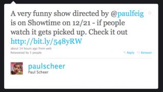 Paul Scheer Tweet