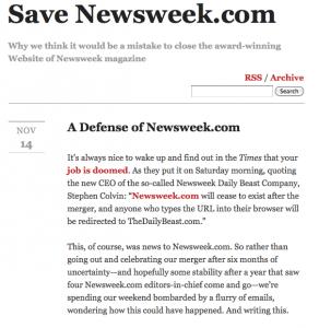 Save newsweek.com
