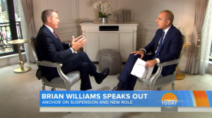 brian williams interview twitter reacts