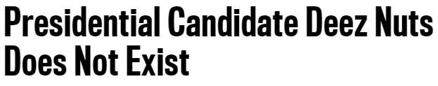 deez nuts the daily beast