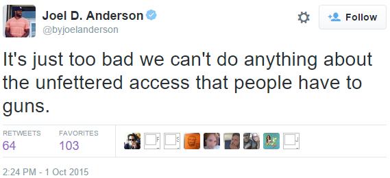 buzzfeed oregon shooter tweet full