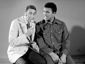 Ali with Howard Cosell (1/2 Length)