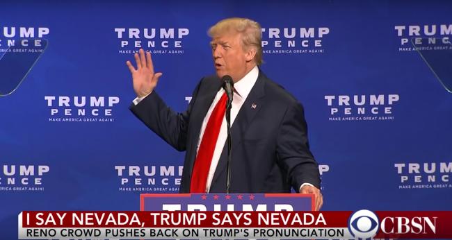 Donald Trump Nevada