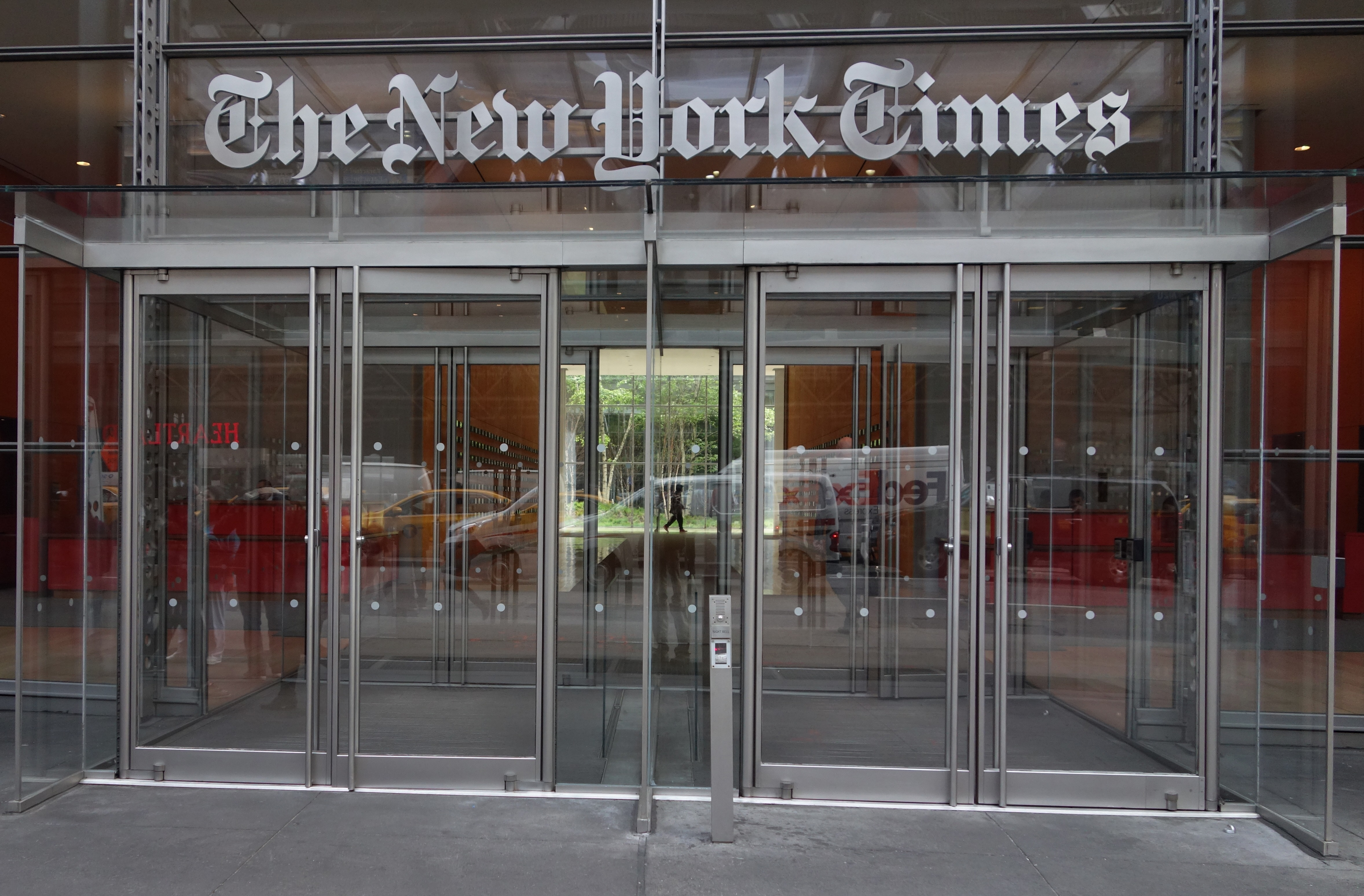 New York Times Working on a Story on David Barstow