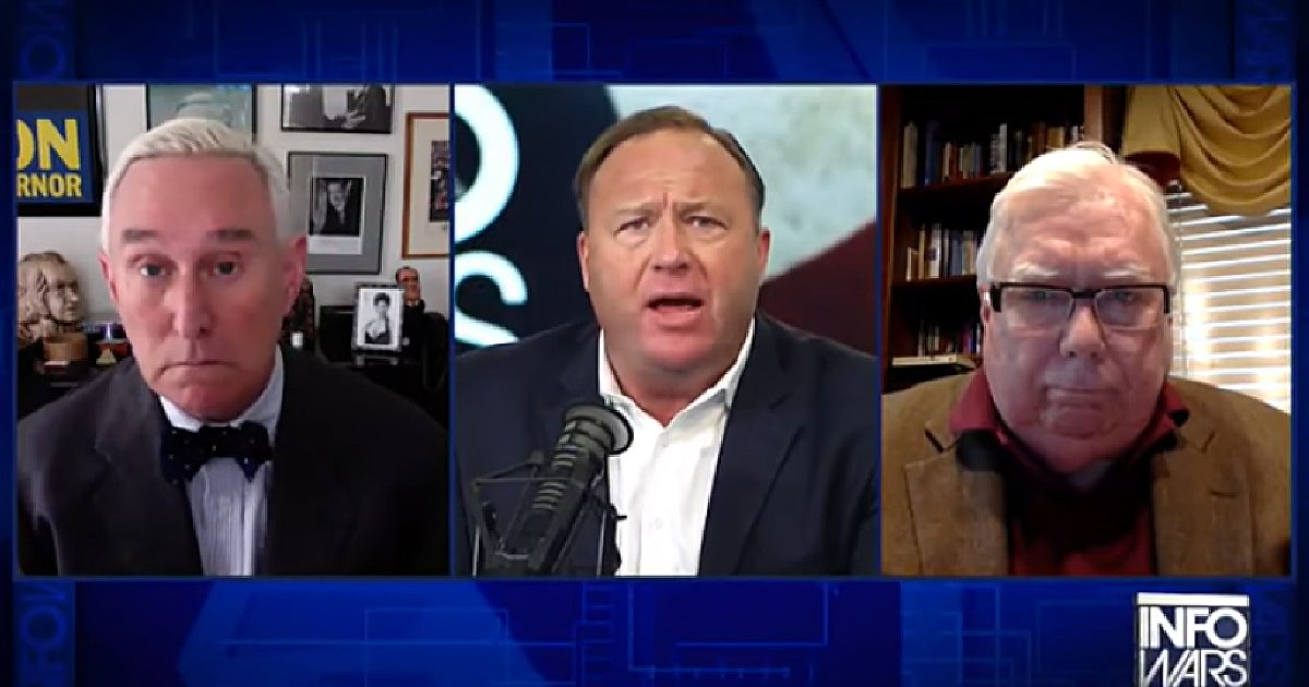 Jerome Corsi Roger Stone Alex Jones