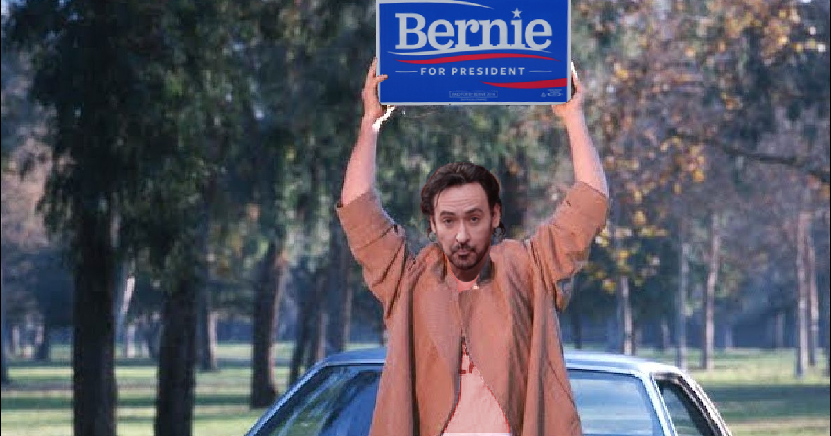 John Cusack is a supporter of Bernie Sanders for President