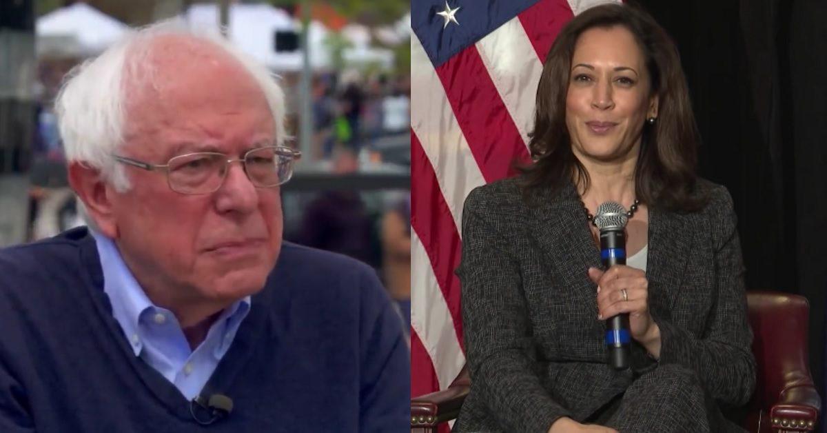 Kamala Harris Ties Bernie Sanders in Early Democratic Primary States