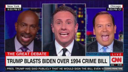 CNN Panel with Van Jones Dissolves Into Chaos Over Trump's Attacks on Central Park 5
