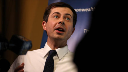 Pete Buttigieg Hits Trump for Attacks on NFL Player Protests