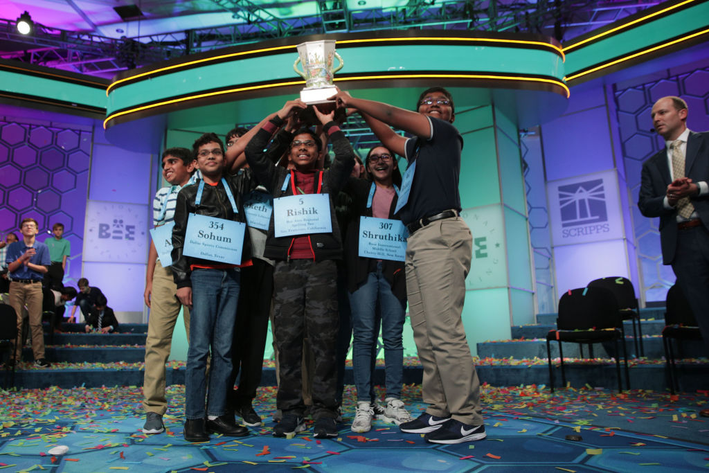 Octo-champs Win Scripps National Spelling Bee, Eight Co-Champions