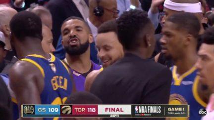 Drake Trolls the Golden State Warriors
