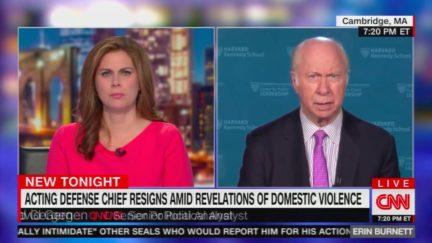 David Gergen Blasts Donald Trump's Claim on Shanahan Abuse