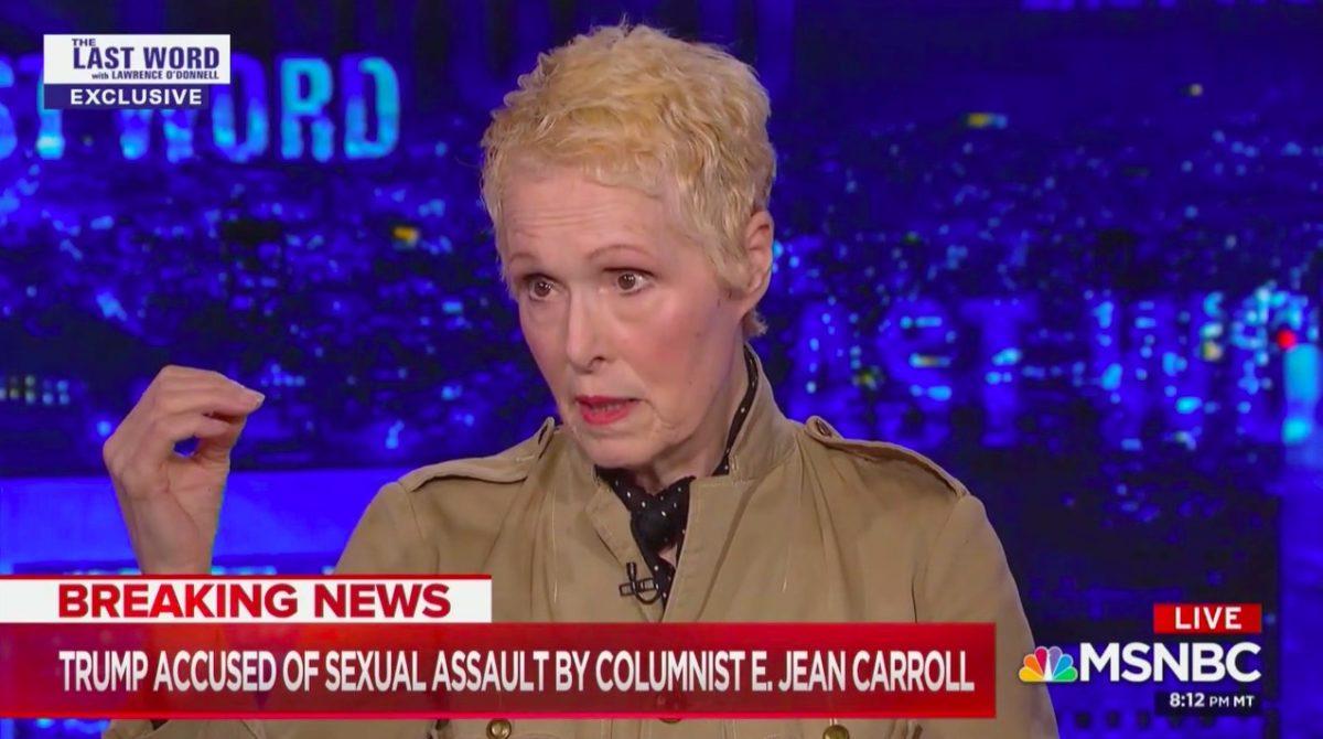 E. Jean Carroll Describes Trump Alleged Sexual Assault