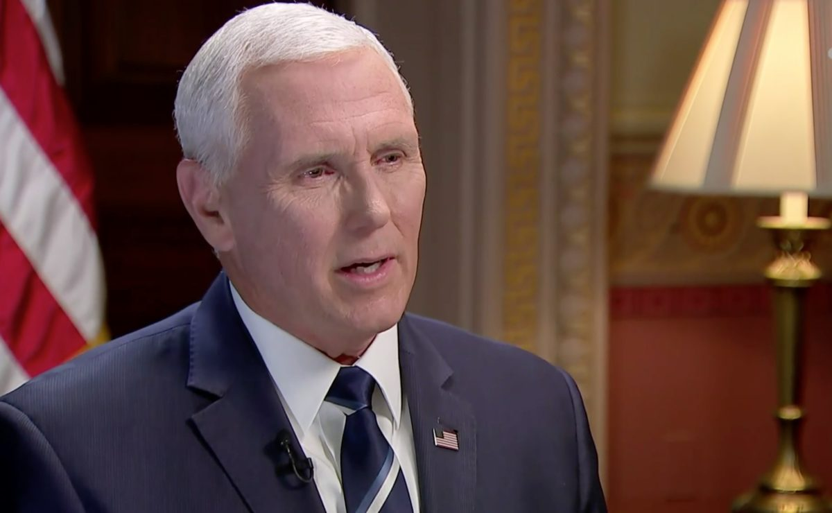 Mike Pence: LGBT Flag Ban the 'Right Decision'