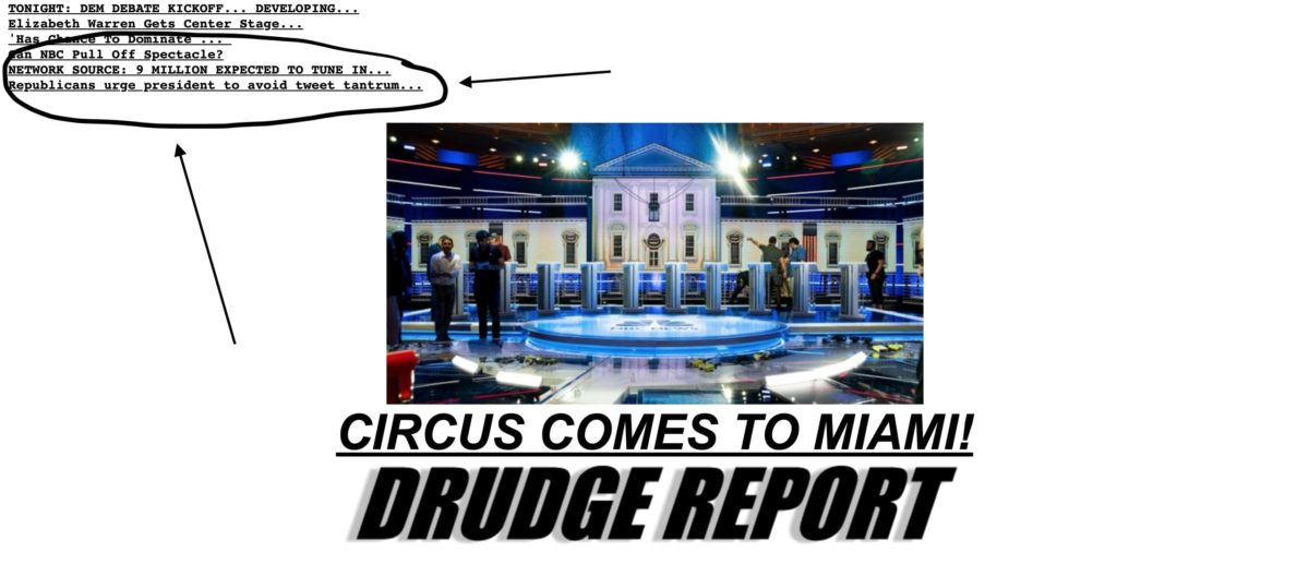 Drudge Reports 9 Million Viewers Expected for Debates