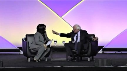 Bernie Sanders Earns Applause As He Explains His Opposition to Reparations at NAACP Forum