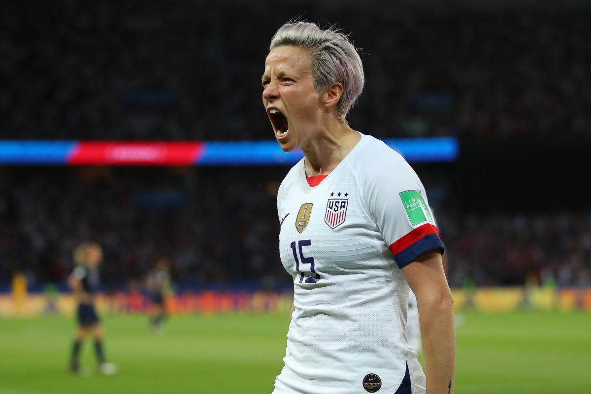 How to Watch US against England in the Women's World Cup Semifinal -- Photo of Megan Rapinoe