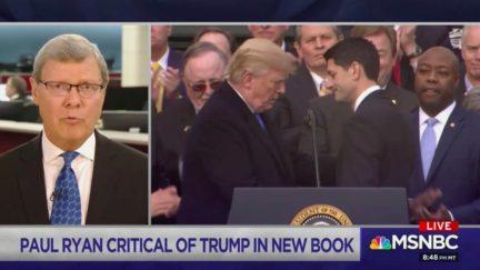Right-wing Pundits Slam Paul Ryan's Political Cowardice Over Trump