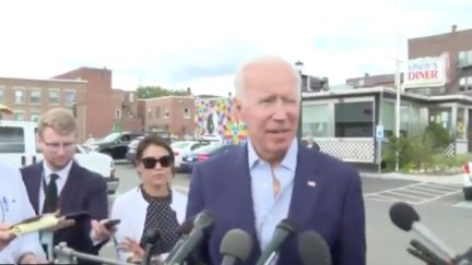 Joe Biden Mistakes NH for Vermont at Campaign Stop