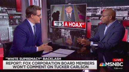 Jason Johnson Accuses Tucker Carlson of