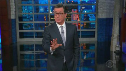 Stephen Colbert Mocks Mitch McConnell's Inaction on Gun Control