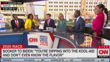 Cnn Panel Roasts Cory Booker For Delivery Of 'Kool-aid' Line 'With Black Phrases You Don't Enunciate Every Word'