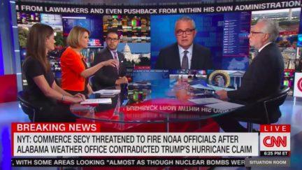 CNN Panel Blasts Secy. Wilbur Ross Over Reported NOAA Threats