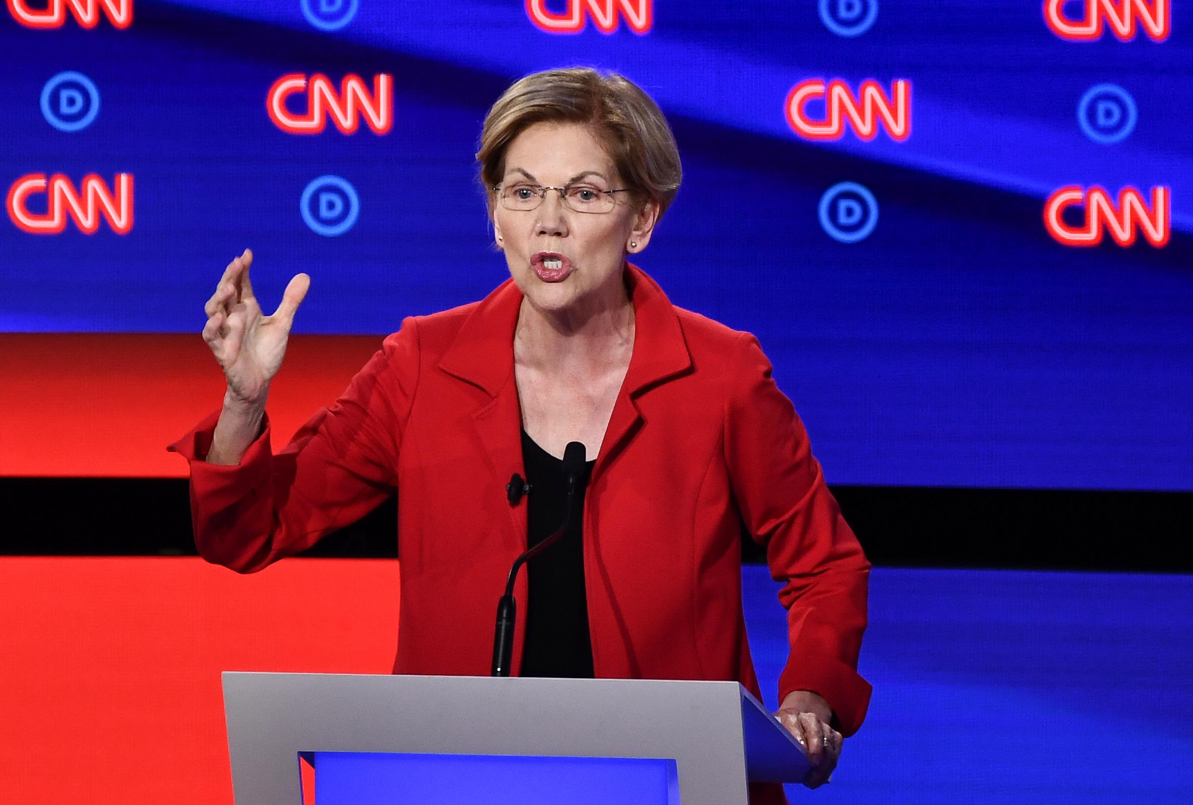 Elizabeth Warren's Bad Poll Against Joe Biden