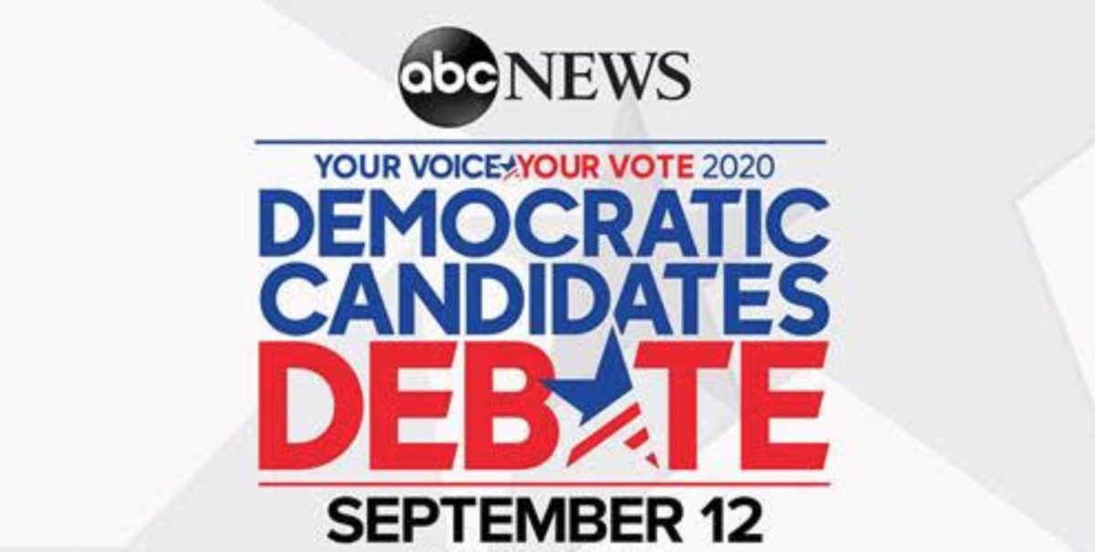 What time is the Democratic debate on ABC News?