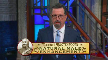 Stephen Colbert Mocks Seb Gorka's Endorsement