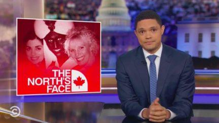 Mocking Justin Trudeau Scandal, Trevor Noah Proposes Makeup Buyback Program to Stop Blackface 'Epidemic'