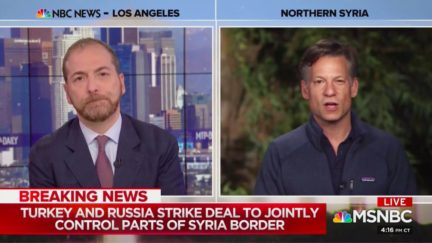 Richard Engel Calls Out Trump's Syrian Pullout, Putin Now 'Kingmaker'