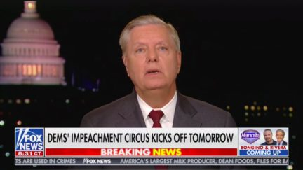 Lindsey Graham Won't Watch 'Un-American' Impeachment Hearings