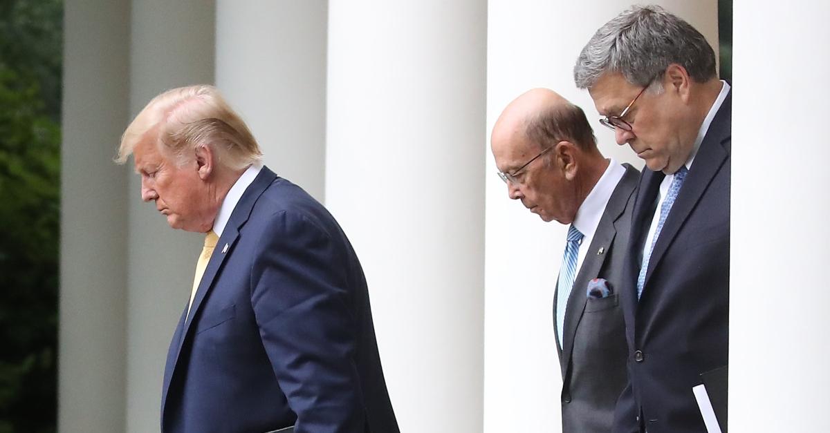 Donald Trump, Bill Barr