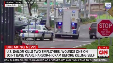 US Sailor Kills 2, Wounds 1 in Mass Shooting at Pearl Harbor Naval Base