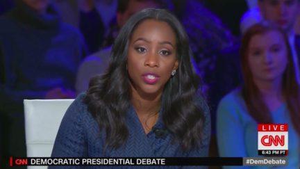 Abby Phillip Question Ignores Sanders' Denial of Warren Claim