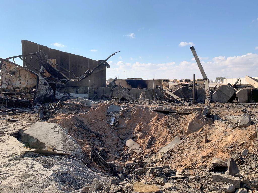 Iran Missile Attack on Al-Asad Airbase in Western Iraq