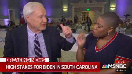 Chris Matthews Cheerleads Biden Spox Attacking Bernie Sanders