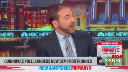 Chuck Todd Blasted for Citing Conservative Columnist's 'Brown Shirt' Quote About Bernie Sanders Supporters