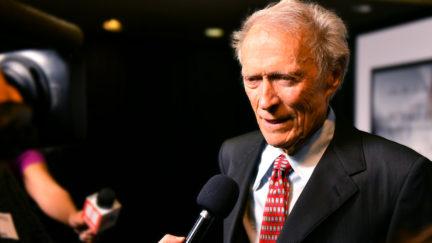Clint Eastwood attends Richard Jewell screening on December 10, 2019 in Atlanta, Georgia.