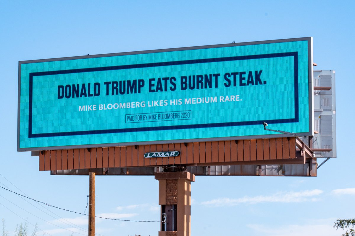 Bloomberg Billboards Target Trump