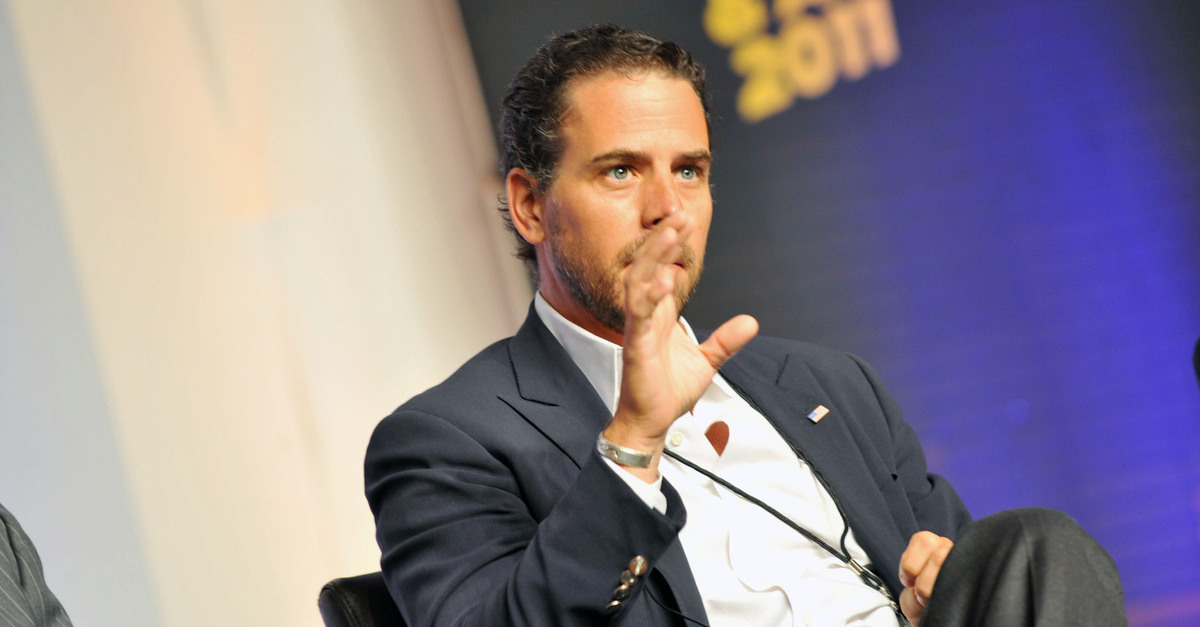 Hunter Biden is writing a book about his struggle with addiction