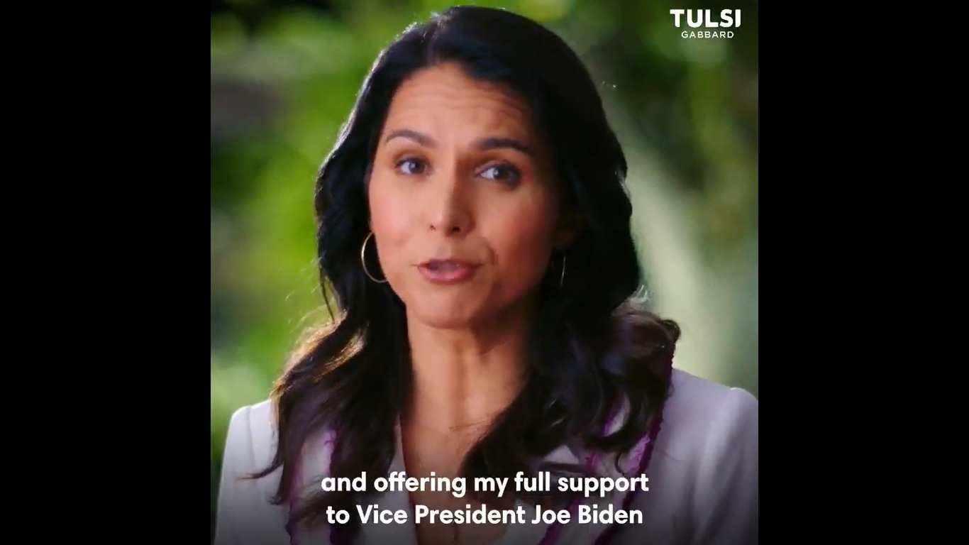 Tulsi Gabbard suspends campaign for president