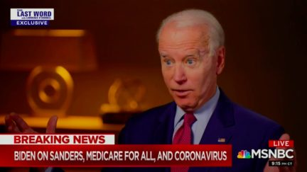 Joe Biden Balks at Signing Medicare for All as President If It Passed Congress