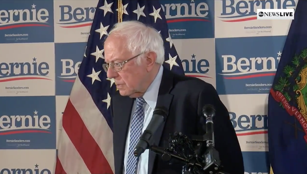 Bernie Sanders Live Press Conference