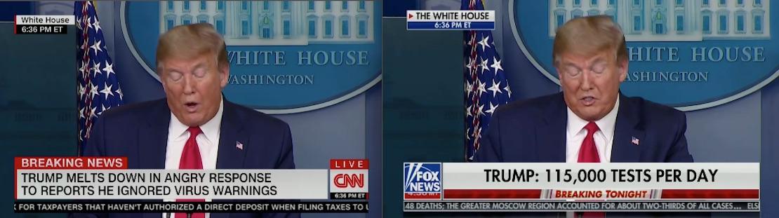 CNN Fox Chyrons