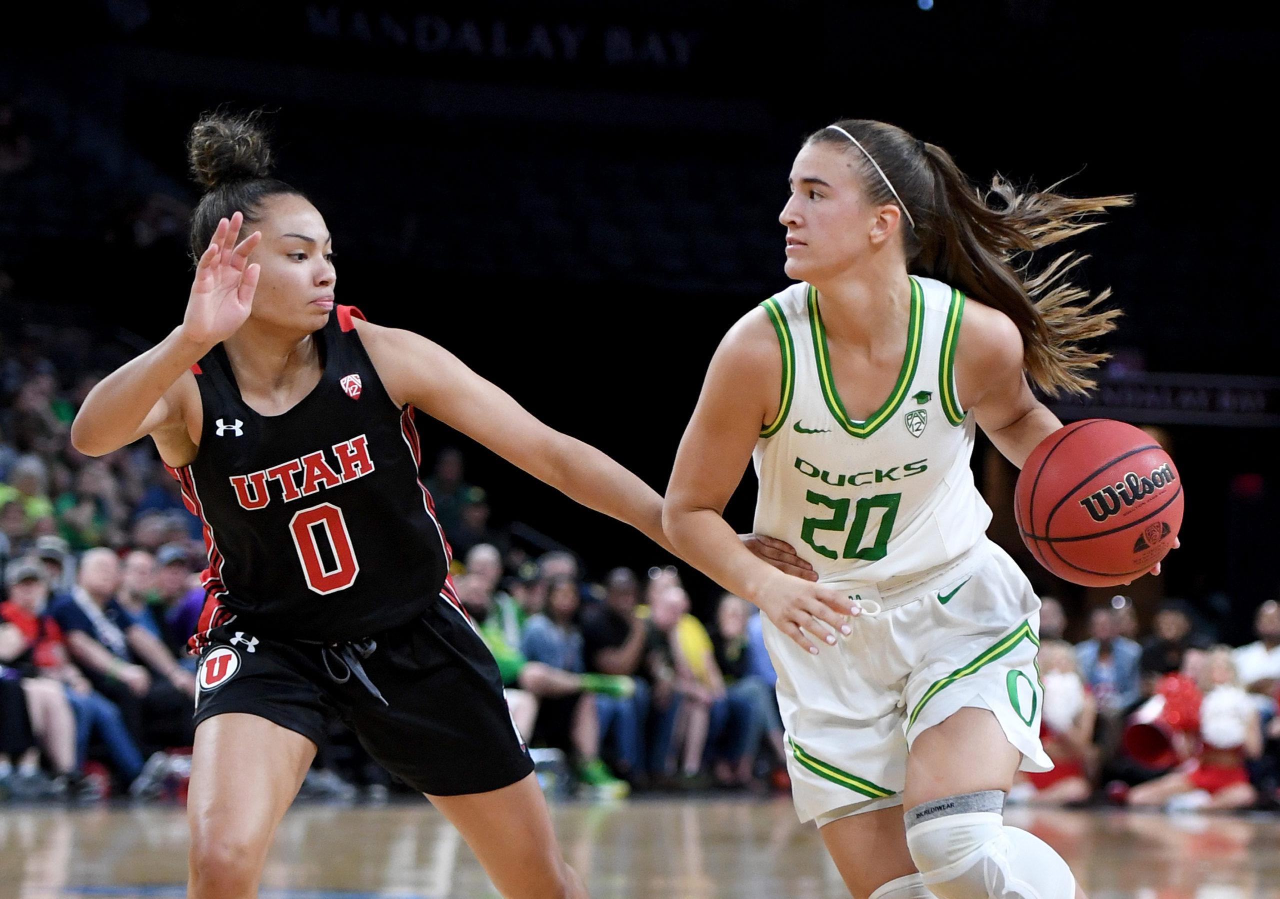 Nike signs top WNBA pick Sabrina Ionescu
