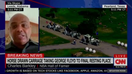 Charles Barkley Calls for Police Refrom Amid Protests on CNN