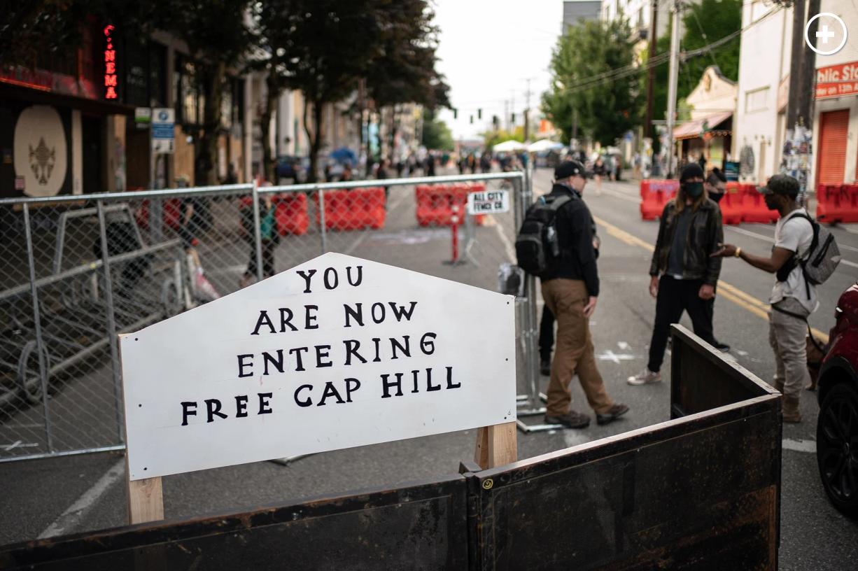 Capitol Hill Autonomous Zone David Ryder/Getty Images
